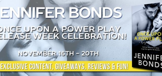 RELEASE BLITZ  –  BOOK REVIEW  –  Once Upon a Power Play  –  Jennifer Bonds