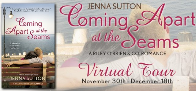 BLOG TOUR / BOOK REVIEW  –  Coming Apart at the Seams  –  Jenna Sutton