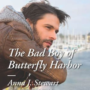 BLOG TOUR / BOOK REVIEW  –  The Bad Boy of Butterfly Harbor  –  Anna J. Stewart