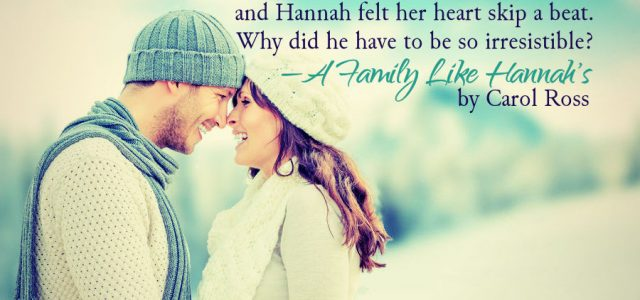 ** Book Tour Grande Finale ** A FAMILY LIKE HANNAH'S