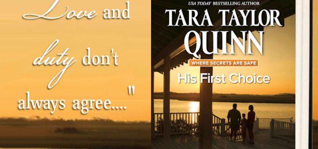 Blog Tour Grand Finale — His First Choice, Tara Taylor Quinn