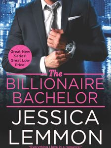 ** Blog Tour / Release Blitz **  THE BILLIONAIRE BACHELOR by Jessica Lemmon