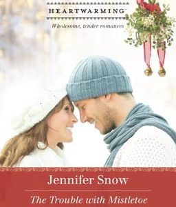 ** Book Review **  THE TROUBLE WITH MISTLETOE by Jennifer Snow