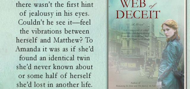 ** Blog Tour **  WEB OF DECEIT by Catherine Lanigan