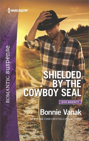 * BLOG TOUR / REVIEW *  SHIELDED BY THE COWBOY SEAL by Bonnie Vanak