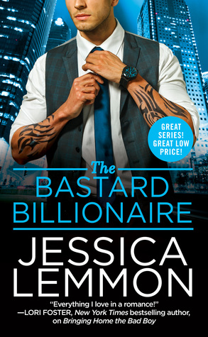 * Review * THE BASTARD BILLIONAIRE by Jessica Lemmon