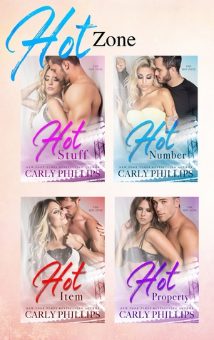 * Blog Tour / Book Reviews * THE HOT ZONE series by Carly Phillips