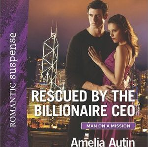 * Review * RESCUED BY THE BILLIONAIRE CEO by Amelia Autin