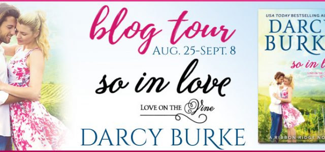 * Blog Tour / Release Blast * SO IN LOVE by Darcy Burke