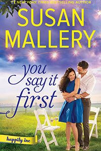 * Review * YOU SAY IT FIRST by Susan Mallery