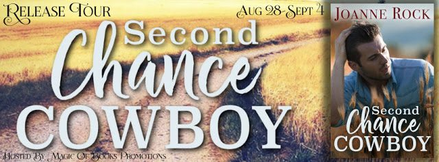 * Blog Tour / Release Blast * SECOND CHANCE COWBOY by Joanne Rock