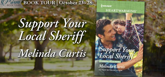 * Blog Tour * SUPPORT YOUR LOCAL SHERIFF by Melinda Curtis