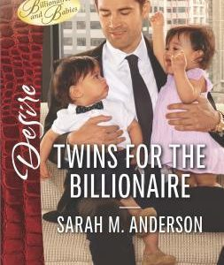 * Review * TWINS FOR THE BILLIONAIRE by Sarah M. Anderson