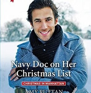 * Review * NAVY DOC ON HER CHRISTMAS LIST by Amy Ruttan