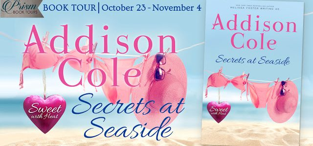 * Blog Tour * SECRETS AT SEASIDE by Addison Cole