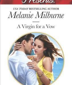 * Review * A VIRGIN FOR A VOW by Melanie Milburne