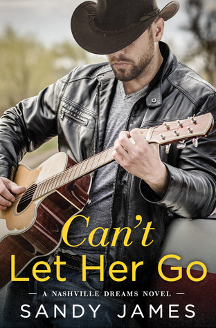 * Review * CAN'T LET HER GO by Sandy James