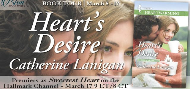 * Blog Tour / Excerpt / Giveaway * HEART'S DESIRE by Catherine Lanigan