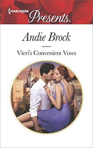 * Review * VIERI'S CONVENIENT VOWS by Andie Brock