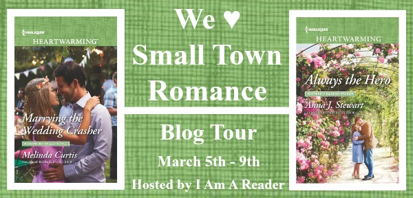 * Blog Tour * WE LOVE SMALL TOWN ROMANCE with Melinda Curtis and Anna J. Stewart