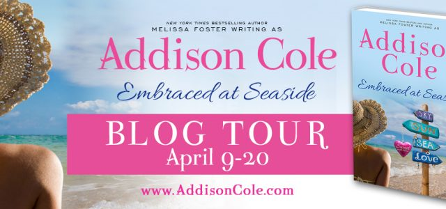 * Blog Tour * EMBRACED AT SEASIDE by Addison Cole