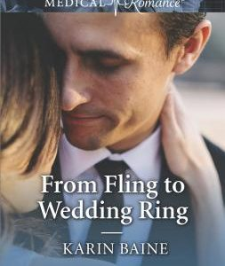 * Review * FROM FLING TO WEDDING RING by Karin Baine