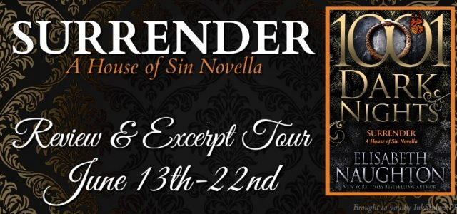 * Blog Tour / Review * SURRENDER by Elisabeth Naughton
