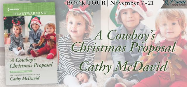 * Blog Tour / Review / Giveaway * A COWBOY'S CHRISTMAS PROPOSAL by Cathy McDavid