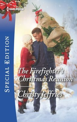 * Review * THE FIREFIGHTER'S CHRISTMAS REUNION by Christy Jeffries