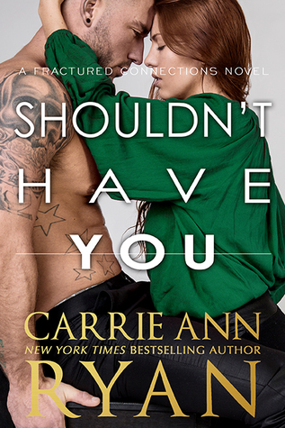 * Blog Tour/ Release Blitz/ Review * SHOULDN'T HAVE YOU by Carrie Ann Ryan
