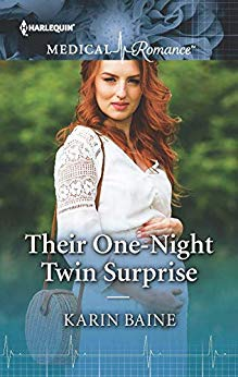* Review * THEIR ONE-NIGHT TWIN SURPRISE by Karin Baine