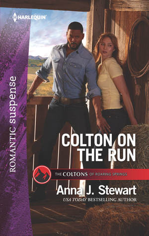 * Review * COLTON ON THE RUN by Anna J. Stewart