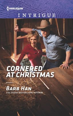* Review * CORNERED AT CHRISTMAS by Barb Han
