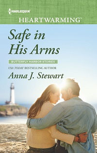 * Review * SAFE IN HIS ARMS by Anna J. Stewart