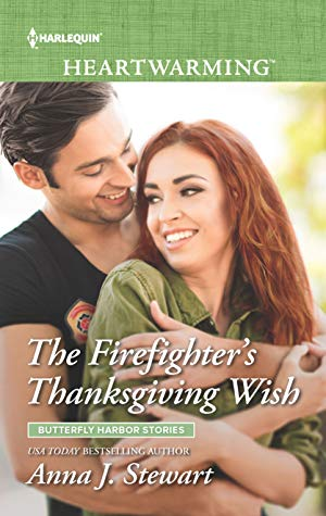 The Firefighter's Thanksgiving Wish by Anna J. Stewart