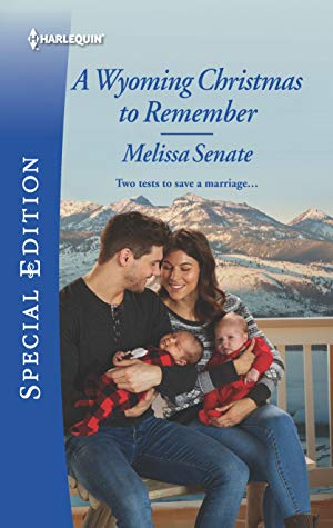 * Review * A WYOMING CHRISTMAS TO REMEMBER by Melissa Senate