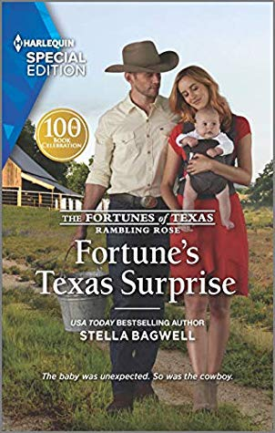 * Review * FORTUNE'S TEXAS SURPRISE by Stella Bagwell