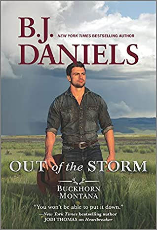 * Review * OUT OF THE STORM by B.J. Daniels